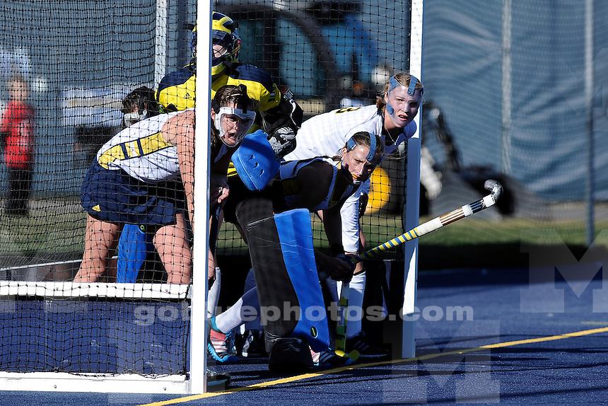University of Michigan field hockey defeats the University of New Hampshire, 3-2, on Senior Day at  Ocker Field in Ann Arbor on Oct. 26, 2014.