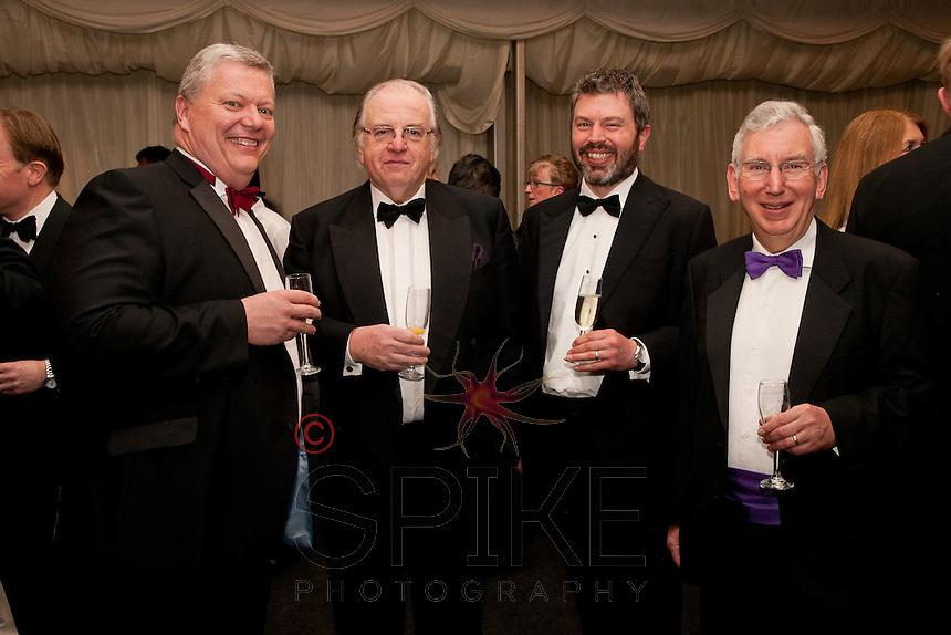 From left are Michael Auty QC, His Honour Judge Michael Stokes QC, Andrew Vout and His Honour Judge Andrew Hamilton QC