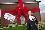 Redrow Homes<br /> Cwm Calon<br /> Sales Consultant Kate Butler<br /> 25.10.13<br /> &copy;Steve Pope-FOTOWALES