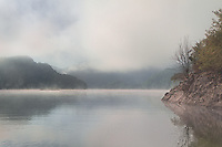 Morning at Uvac Lake, Serbia