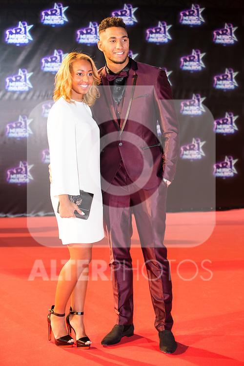 Tony Yoka et sa compagne Estelle Mossely, champions olympiques de boxe 2016 à Rio