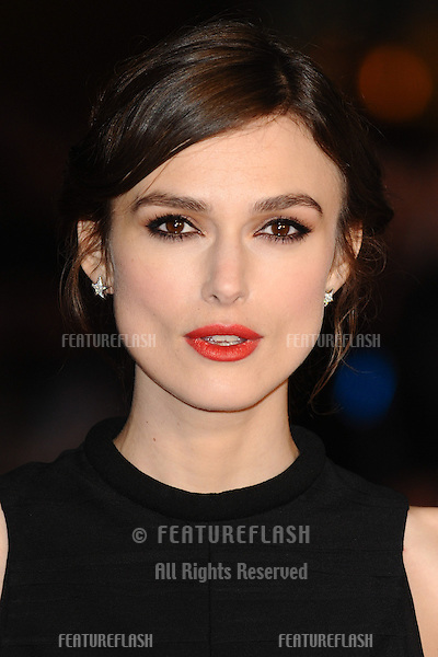 Keira Knightley arriving for the UK Premiere of Jack Ryan, at Vue Leicester Square, London. 20/01/2014 Picture by: Steve Vas / Featureflash