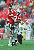 Ohio State cornerback Ty Howard (2) vs. Purdue 1995.  (Eric Albrecht Dispatch photo)