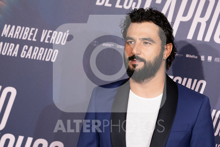 Actor Antonio Velazquez attends the photocall of 'El Asesino de los Caprichos'. October 15, 2019. (ALTERPHOTOS/Johana Hernandez)