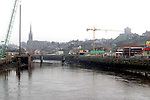 Work on the new bridge across the Boyne..Picture: Paul Mohan/Newsfile
