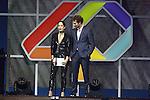 01.12.2016 Barcelona. Los 40 music awards 2016. Morat