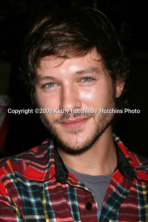 Michael Graziadei  on the set of THe Young & The Restless  celebrating  Jeanne Cooper's 80th Birthday in Los Angeles, CA on.October 24, 2008.©2008 Kathy Hutchins / Hutchins Photo...                .