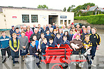 END OF AN ERA: Members of the community in Currow pictured on the last day of operations at Dicksgrove Creamery on Friday last. The creamery served the community since the late 1880s.   Copyright Kerry's Eye 2008