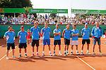 Gruen Weiss Mannheim - TC Blau-Weiss Halle 27.07.2014