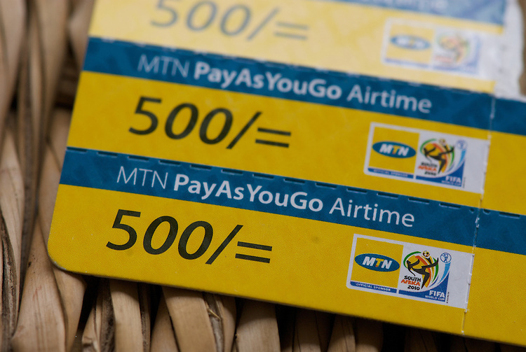 Airtime is sold in vouchers as small as 500 Ugandan Shillings - about 25¢. This buys four 'cross network' messages, or eight within MTN. Pricing differentials like these encourage many Ugandans to have more than more handset, or at least more than one SIM card. Multi-SIM phones are available. Swapping SIMs allows sharing of handsets.