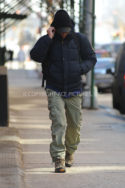 WWW.ACEPIXS.COM<br /> February 11, 2015 New York City<br /> <br /> Bradley Cooper walking in Tribeca in New York City on February 11, 2015.<br /> <br /> By Line: Kristin Callahan/ACE Pictures<br /> ACE Pictures, Inc.<br /> tel: 646 769 0430<br /> Email: info@acepixs.com<br /> www.acepixs.com