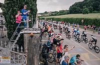 15km to go<br /> <br /> stage 13 Ferrara - Nervesa della Battaglia (180km)<br /> 101th Giro d'Italia 2018