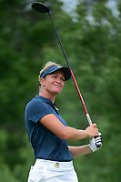Suzann Pettersen (NOR) watches her tee shot on 8 during Thursday's first round of the 72nd U.S. Women's Open Championship, at Trump National Golf Club, Bedminster, New Jersey. 7/13/2017.<br /> Picture: Golffile | Ken Murray<br /> <br /> <br /> All photo usage must carry mandatory copyright credit (&copy; Golffile | Ken Murray)