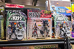BETHLEHEM, CT. 11 January 2019-011119 - KISS the musical group, collectibles sit on shelves at the Giant Indoor Flea Market in Bethlehem on Friday. Bill Shettle Republican-American