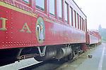 Passenger Coach, The Skunk Train, Willits, Mendocino County, California