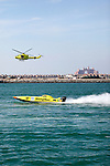"A complete field of 30 boats will line up along the Mina Seyahi Dubai breakwater for the first round of the brand-new Gulf X-Cat Series Powerboat Championship organised by the UAE Marine Sports Federation and being held under the aegis of the World Professional Powerboating Association (WPPA) in conjunction with the Abu Dhabi International Marine Sports Club (ADIMSC) and Dubai International Marine Club (DIMC), a press release said..The championship is a re-branded version of Class III racing with certain modifications. This weekend's inaugural race has been named the 'Mina Seyahi' X-Cat Series and 30 boats representing 15 countries will take to the Dubai International Marine Club (DIMC) waters today afternoon..One of the highlights of the new championship will be a record $1.6 million up for grabs for the winners in the six rounds planned so far, making it the largest prize fund in the world of powerboat racing..""It is our vision to create the biggest and the most successful international racing class in the world,"" observed Saeed Hareb, Managing Director, DIMC..The new series will be run as per rules and regulations laid down by the WPPA for Class III powerboat racing. Fitting of boats with transponders for the live virtual system to enable better race management and safety is among the most important amendment made by organisers to the previous class..The WPPA will also allow the Mercury 300hp Optimax EPA engines eligible to race in this series provided the boats carry the same weight as the Class III vessels with the 2.5 litre Mercury engines. ""The entry field shows us how popular this class of powerboat racing is, and we have just about started,"" stated Sid Bensalah, General Manager, Mina Seyahi Dubai..Sweden, Norway, Qatar, Kuwait, France, Spain, Italy, USA, UK, Lebanon and the UAE are among the countries being represented in the new championship series..""The popularity of this class also lies in the fact that this is an affordable form of racing at the end of"