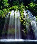 USA, California, A waterfall in Central California.