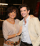 """Mercedes Reuhl and Michael Urie attends the Broadway cast photo call for """"Torch Song"""" at the Hayes Theatre on September 20, 2018 in New York City."""