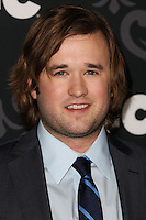 "LOS ANGELES, CA - JANUARY 07: Haley Joel Osment arriving at the Los Angeles Screening Of IFC's ""The Spoils Of Babylon"" held at the Directors Guild Of America on January 7, 2014 in Los Angeles, California. (Photo by Xavier Collin/Celebrity Monitor)"