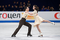 24th March 2018, Mediolanum Forum, Milan, Italy; ISU World Figure Skating Championships Milan 2018; Anna Cappellini and Luca Lanotte 4th in pairs