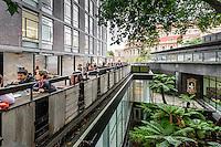 Students' Union Terrace, Darwin Building