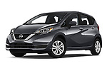 Stock pictures of low aggressive front three quarter view of a 2019 Nissan Versa-Note SV 5 Door Hatchback