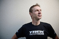 Jens Voigt<br /> in his 17th and last ever Tour de France