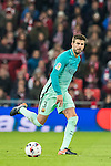 Gerard Pique Bernabeu of FC Barcelona in action during their Copa del Rey Round of 16 first leg match between Athletic Club and FC Barcelona at San Mames Stadium on 05 January 2017 in Bilbao, Spain. Photo by Victor Fraile / Power Sport Images