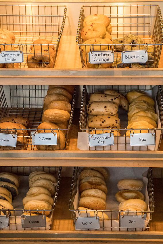 Third Street Bagel shop in Marquette, Michigan.
