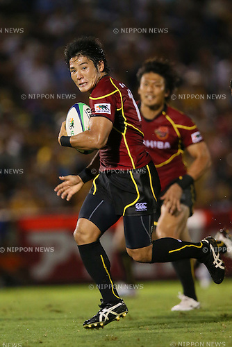 Yoshikazu Morita (Brave Lupus), .SEPTEMBER 1, 2012 - Rugby : .Japan Rugby Top League 2012-2013 .between Toshiba Brave Lupus 26-16 NTT Communications Shining Arcs .at Prince Chichibu Memorial Stadium, Tokyo, Japan. .(Photo by YUTAKA/AFLO SPORT) [1040]