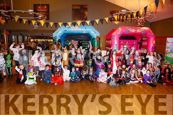 BOO FROM THE CREW: Great turnout at the annual Clogherbrien/Ballyroe Halloween Party on Tuesday in the Ballyroe Heights Hotel.