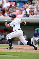June 14th 2008:  Chris Carlson of the West Michigan Whitecaps, Class-A affiliate of the Detroit Tigers, during a game at Fifth Third Ballpark in Comstock Park, MI.  Photo by:  Mike Janes/Four Seam Images