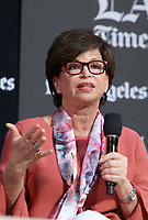 13 April 2019 - Los Angeles, California - Valerie Jarrett. 2019 Los Angeles Times Festival Of Books held at University of Southern California. Photo Credit: Faye Sadou/AdMedia