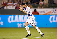 FC Dallas defender Marcelo Saragosa. The Chivas USA defeated FC Dallas 2-0 at Home Depot Center stadium in Carson, California on Saturday April 25, 2009.   .