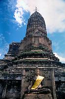Wat Phra Si Rattana Mahathat in Chaliang, Si Satchanalai Historical Park.