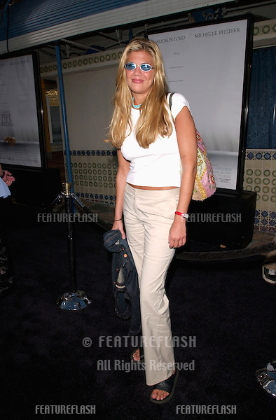 Actress KRISTEN JOHNSTON at the premiere, in Los Angeles, of What Lies Beneath.