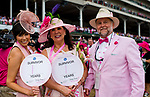 LOUISVILLE, KY - MAY 04: Survivors pose for a phot at the Survivor's Parade on Kentucky Oaks Day at Churchill Downs on May 4, 2018 in Louisville, Kentucky. (Photo by Scott Serio/Eclipse Sportswire/Getty Images)