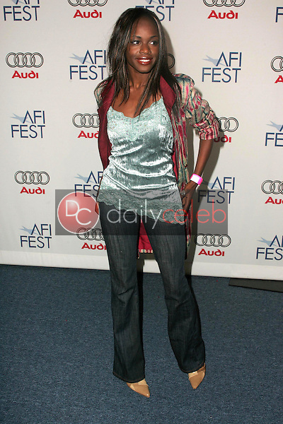 """Nzinga Blake<br />at the After Party following the AFI FEST 2005 premiere of """"The Refugee All Stars"""". Audi Pavilion, Hollywood, CA. 11-09-05<br />Dave Edwards/DailyCeleb.com 818-249-4998"""