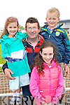 Amy, Seamus Ava and Ronan Stack at Listowel Races Ladies Day on Sunday.