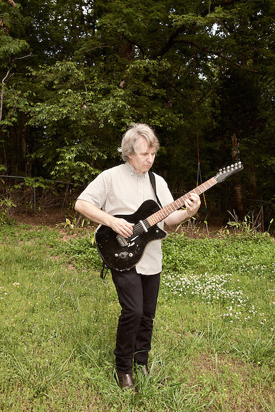 April 21, 2012. Chapel Hill, NC.. Chris Stamey, a musician known for his work with the db's, also runs a recording studio from his home in Chapel Hill.
