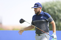 Tyrrell Hatton (ENG) during the preview to the DP World Tour Championship, Jumeirah Golf Estates, Dubai, United Arab Emirates. 19/11/2019<br /> Picture: Golffile | Fran Caffrey<br /> <br /> <br /> All photo usage must carry mandatory copyright credit (© Golffile | Fran Caffrey)