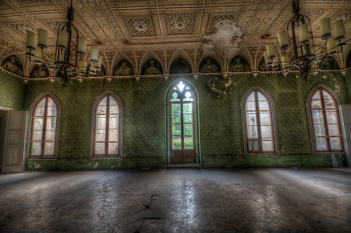 German forgotten castle.