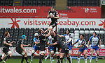 Ospreys lock Ian Evans takes the line out ball.<br /> RoboPro 12<br /> Ospreys v Connacht<br /> 10.05.14<br /> &copy;Steve Pope-SPORTINGWALES