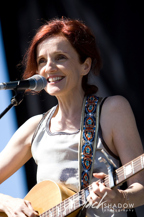 Patty Griffin  performing at the Point Nepean Festival, 22 March 2007
