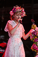 WEST PALM BEACH, FL - AUGUST 9: Grace Vanderwaal performs during the Evolve Tour at The Coral Sky Amphitheatre on August 9, 2018 in West Palm Beach, Florida. Credit: mpi140/MediaPunch