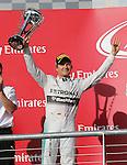 Formula 1 United States Grand Prix 2014, 31.10.-02.11.14<br />  2.Platz/Place Nico Rosberg(GER#6), Mercedes AMG Petronas F1 Team<br /> Foto &copy; nordphoto /  Bratic