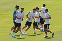 Players during Real Madrid´s first training session of 2013-14 seson. July 15, 2013. (ALTERPHOTOS/Victor Blanco) ©NortePhoto