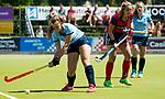 NIJMEGEN -  Isaline Kroon (Nijm.)   tijdens  de tweede play-off wedstrijd dames, Nijmegen-Huizen (1-4), voor promotie naar de hoofdklasse.. Huizen promoveert naar de hoofdklasse.  COPYRIGHT KOEN SUYK