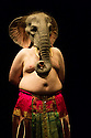Edinburgh, UK. 09.08.2014.  GANESH VERSUS THE THIRD REICH, presented by Australian company, Back to Back Theatre, opens at the Royal Lyceum Theatre, as part of the Edinburgh International Festival. Picture shows:  Brian Tilley. Photograph © Jane Hobson.
