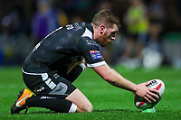 Picture by Alex Whitehead/SWpix.com - 29/09/2017 - Rugby League - Betfred Super League Semi-Final - Leeds Rhinos v Hull FC - Headingley Carnegie Stadium, Leeds, England - Hull FC's Marc Sneyd prepares to kick for goal.